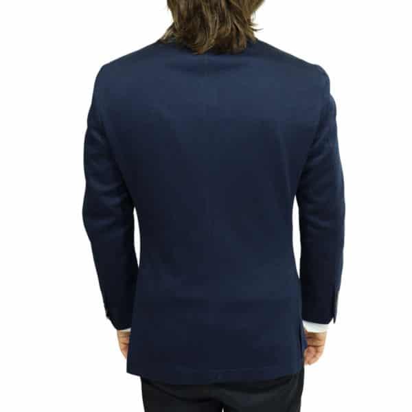 hackett jacket dark navy back