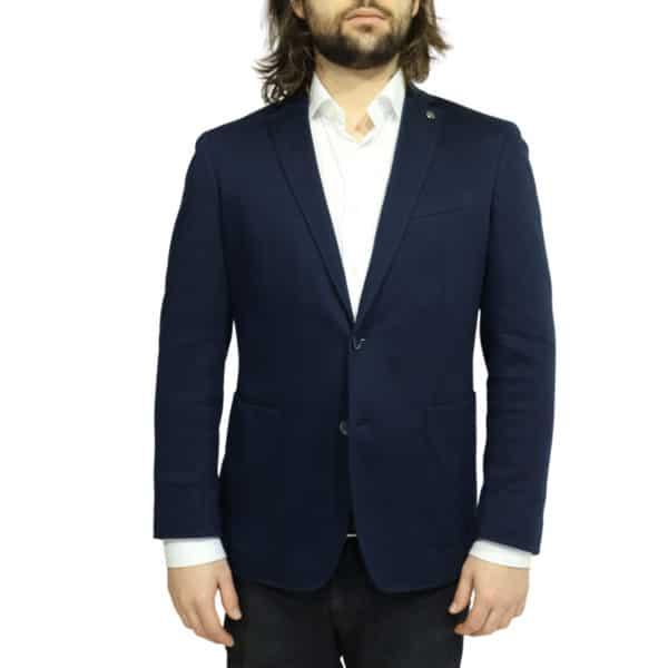 hackett jacket dark navy front