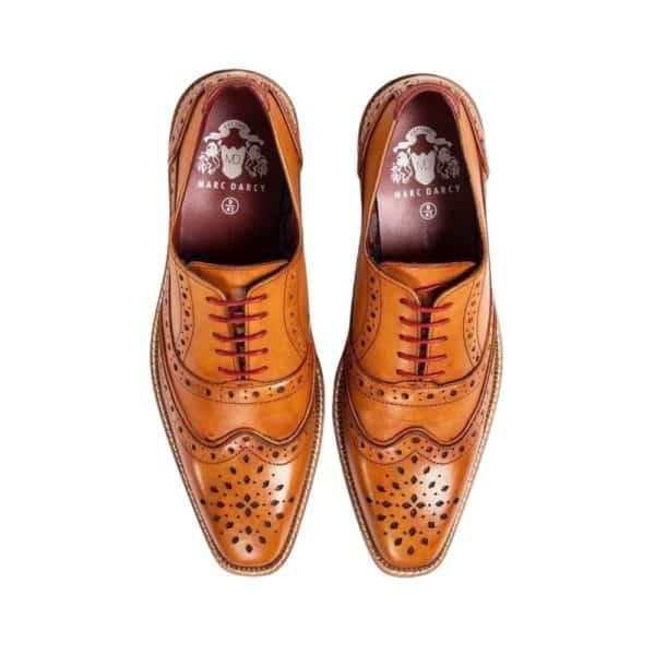 marc darcy tan shoe