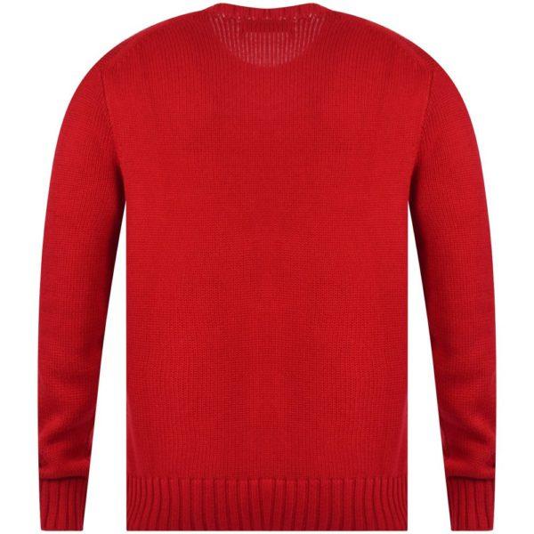 polo ralph lauren red logo cotton knit jumper p17009 43741 image