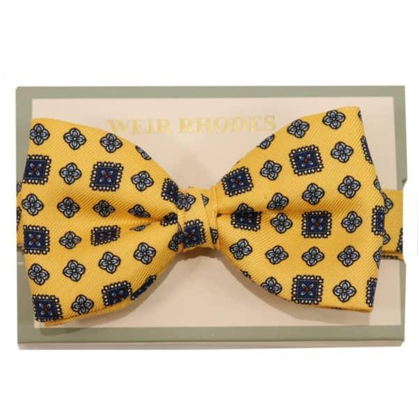 weir rhodes yellow bow tie