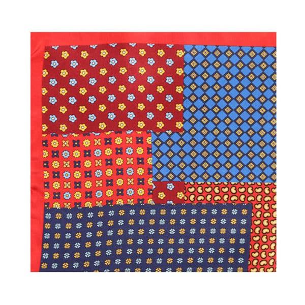 Amanda Christensen pocket square mixed red main 2