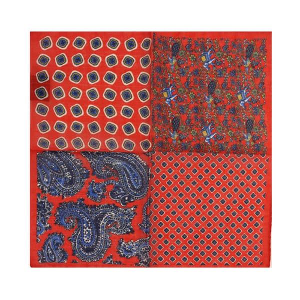 Amanda Christensen pocket square red mixed 2