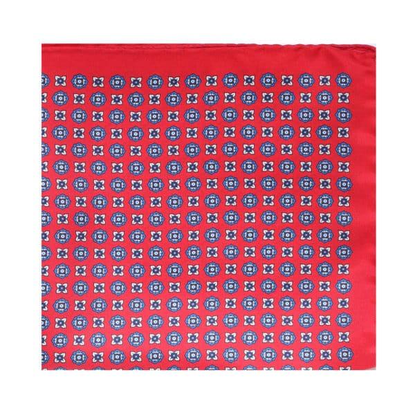 Amanda Christensen pocket square shape red main