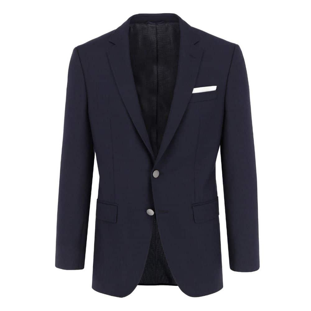BOSS slim fit blazer in navy front