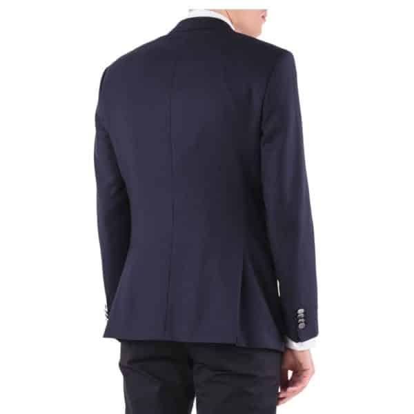BOSS slim fit blazer in navy rear