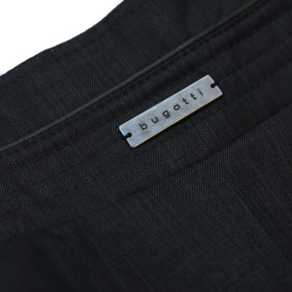 Bugatti coat collar logo