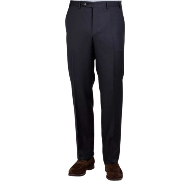Canali Trouser Navy twill