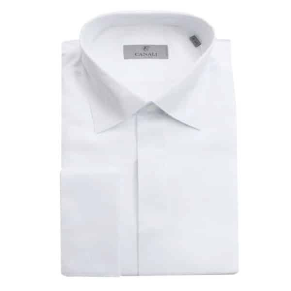 Canali formal shirt wave stitching1