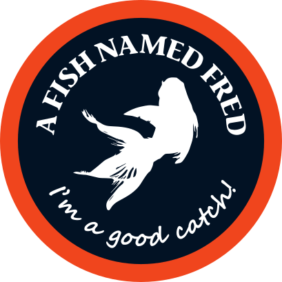 DFW a fish named fred logo color min