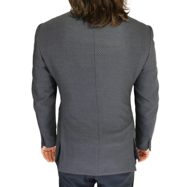 Emporio Armani jacket grey with black zig zag back