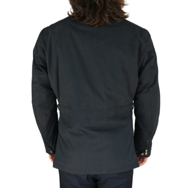 Hacket navy winter jacket back
