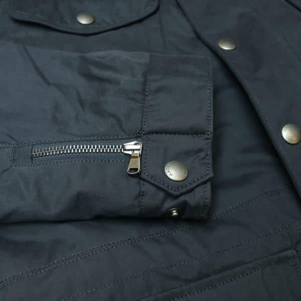 Hacket navy winter jacket detail
