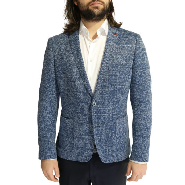 Roy Robson jacket speckled navy