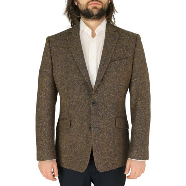 Warwicks brown tweed jacket
