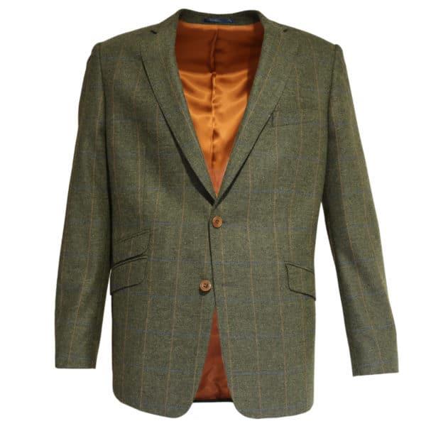 Warwicks jacket khaki with orange stripe
