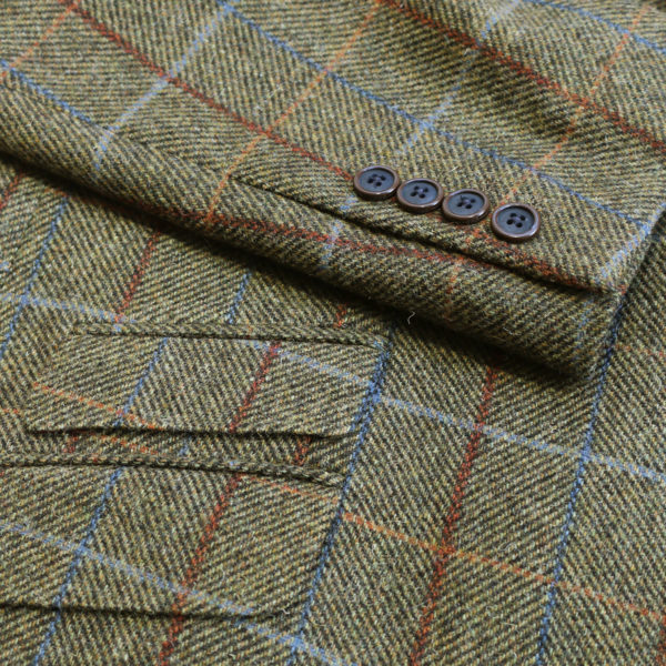 Warwicks windowpane jacket detail1