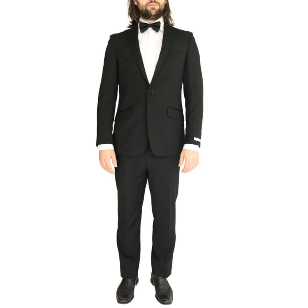 Without Prejudice black suit