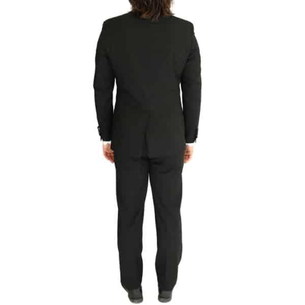 Without Prejudice black suit bacl