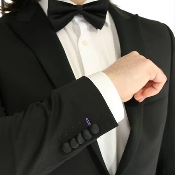 Without Prejudice black suit jacket buttons
