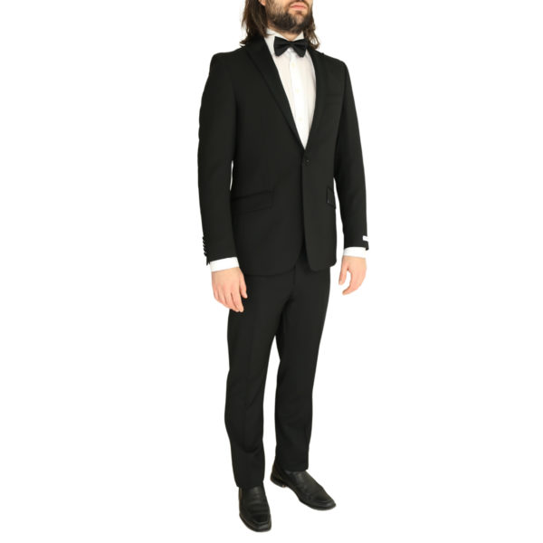 Without Prejudice black suit side