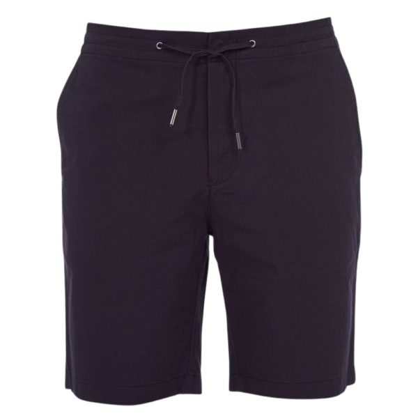 BARBOUR BARBOUR BAY RIPSTOP SHORTS in navy front