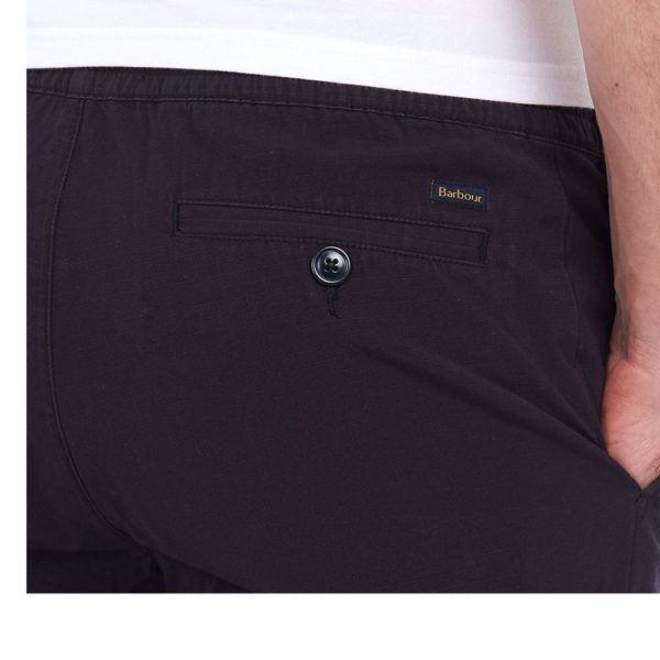 BARBOUR BARBOUR BAY RIPSTOP SHORTS in navy pocket