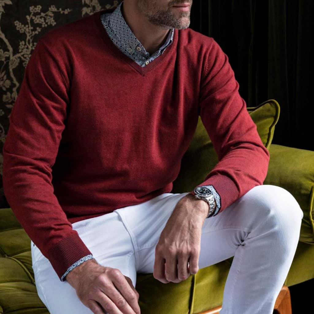 mens knitwear jumper menswear