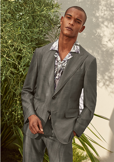 Canali suit SS21 collection