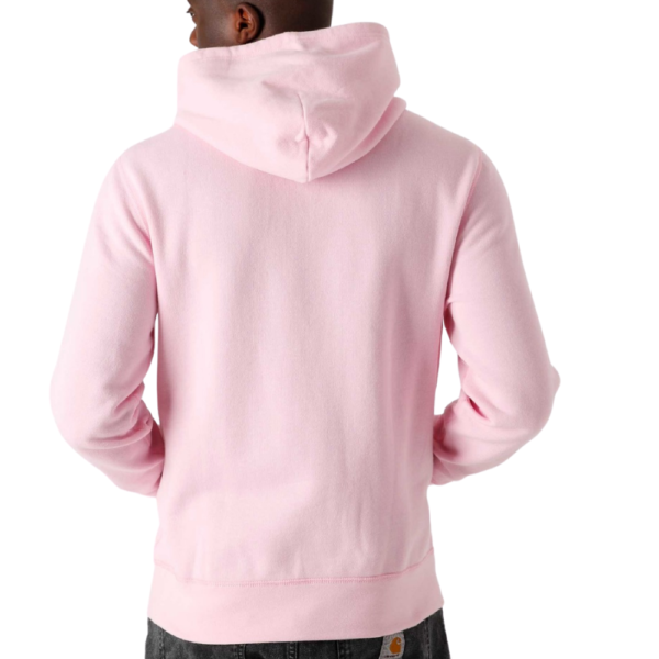 POLO RALPH LAUREN MENS HOODIE in Pink Rear
