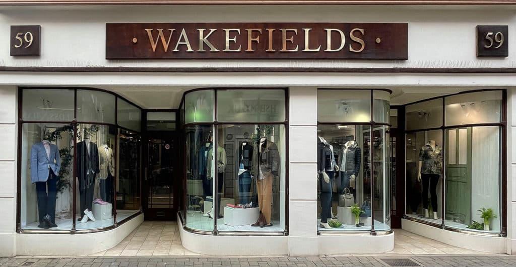 WAKEFIELDS shop