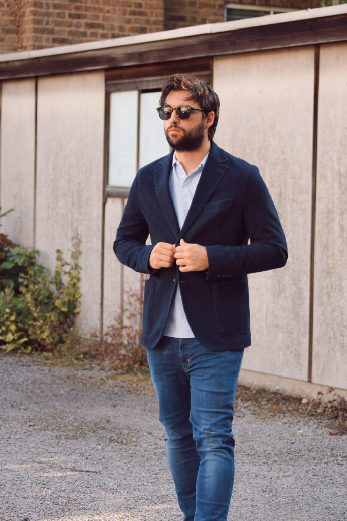 Tom StreetStyle jacket and polo