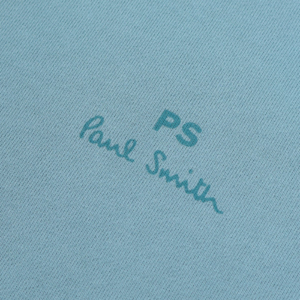ps blue sweat logo front
