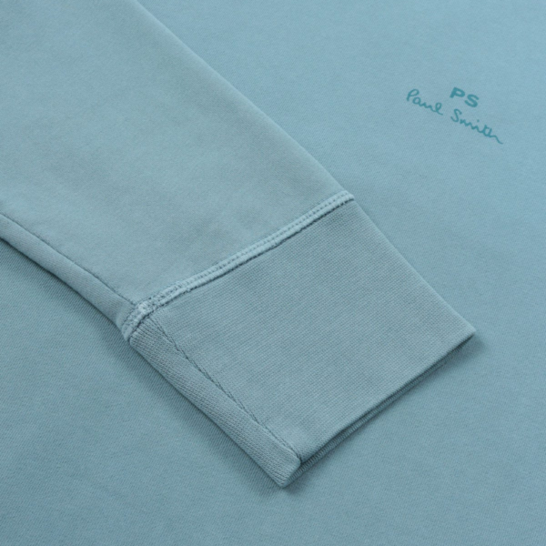 ps blue sweat sleeve